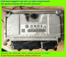 For car engine computer board/VW Polo AccFast ECU/Electronic Control Unit/03C906057DB 0261S05130/03C906057DC 0261S05131