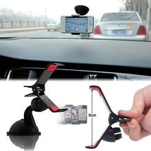 Universal Windshield 360 Degree Rotating Car Sucker Mount Bracket Holder Stand Universal for Phone GPS Tablet PC Accessories