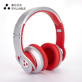 SYLLABLE G800 Bluetooth 4.0 Headphone Noise Canceling Wireless Headset with Mic Bass Headphone Over the Ear Without retail box