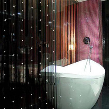 Romantic Beads Design Beaded Crystal Curtain String Door Window Curtain Divider partition Tassel Decoration
