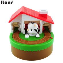 2016 Itazura Stealing Coin Cat Mouse Kitty Coins Piggy Bank Saving Box Kid Child Present Gift
