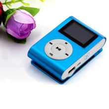 Mp3-Player Audio Player Sports Mini Clip Metal USB MP3 Player Support Micro SD TF Card Music Media Mp3 With Screen Headphones