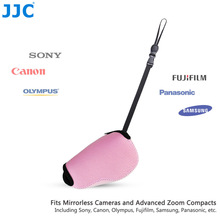 JJC Pink Mirrorless Camera Pouch Soft SLR Case Neoprene Bag for Canon SX410 IS/SX420 IS/SX510 HS,Nikon P7800/DL18-50,LX100