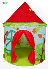 Cartoon Foldable Tent for Travel Caming Kids Playhouse Ball Pit for Baby