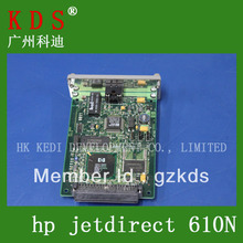 Free shipping jetdirect 610N J6057A EIO Print Server series 100% Quality guarantee(China)