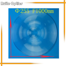 255mm Diameter Round Acrylic Plastic Fresnel Condensing Lens Large Focal Length 1000mm for Plane Magnifier,Solar Concentrator(China)