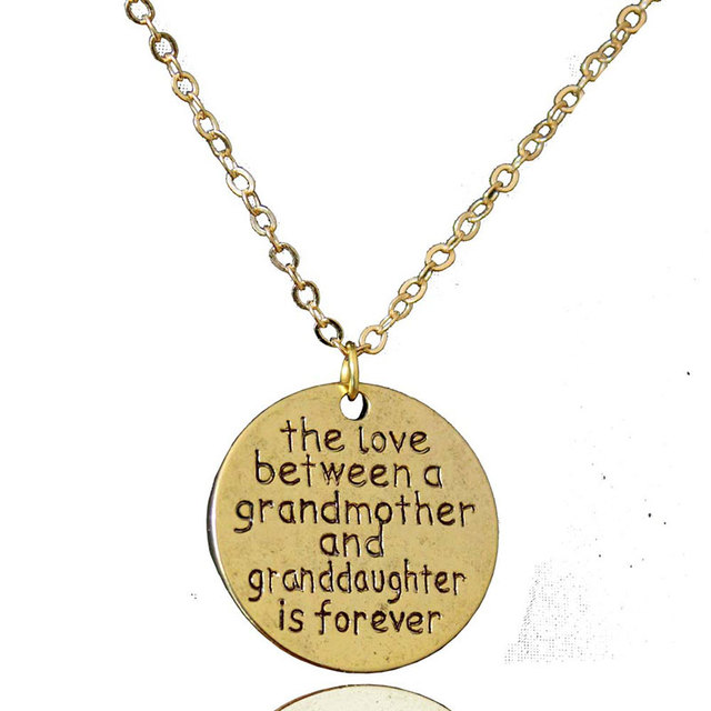 Ich liebe dich, antique gold anhänger halskette weiblichen paar ...