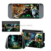 New for Nintendo Switch Foil Game Consoles Color Stickers Stickers The Legend of Zelda
