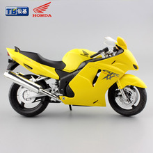1:12 scale kids Motorcycle Honda CBR 1100XX Diecast motorbike metal models race speed car collection gift toys for man boy 2017