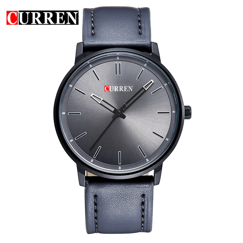CURREN Luxury Brand Relogio Masculino Leather Casual Watch Men Sports Watches Quartz Military Wrist Watch Male Clock 8233<br><br>Aliexpress