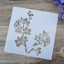 DIY Craft Vine Flower Layering Stencils For Walls Painting Scrapbooking Stamping Stamps Album Decorative Embossing Paper Cards