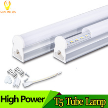 LED Tube T5 Light Lamp Integrated Wall Tube 5W 9W 10W 30CM 60CM 2ft 300mm 600mm T5 Led Lights SMD 2835 Lighting Warm Cold White(China)