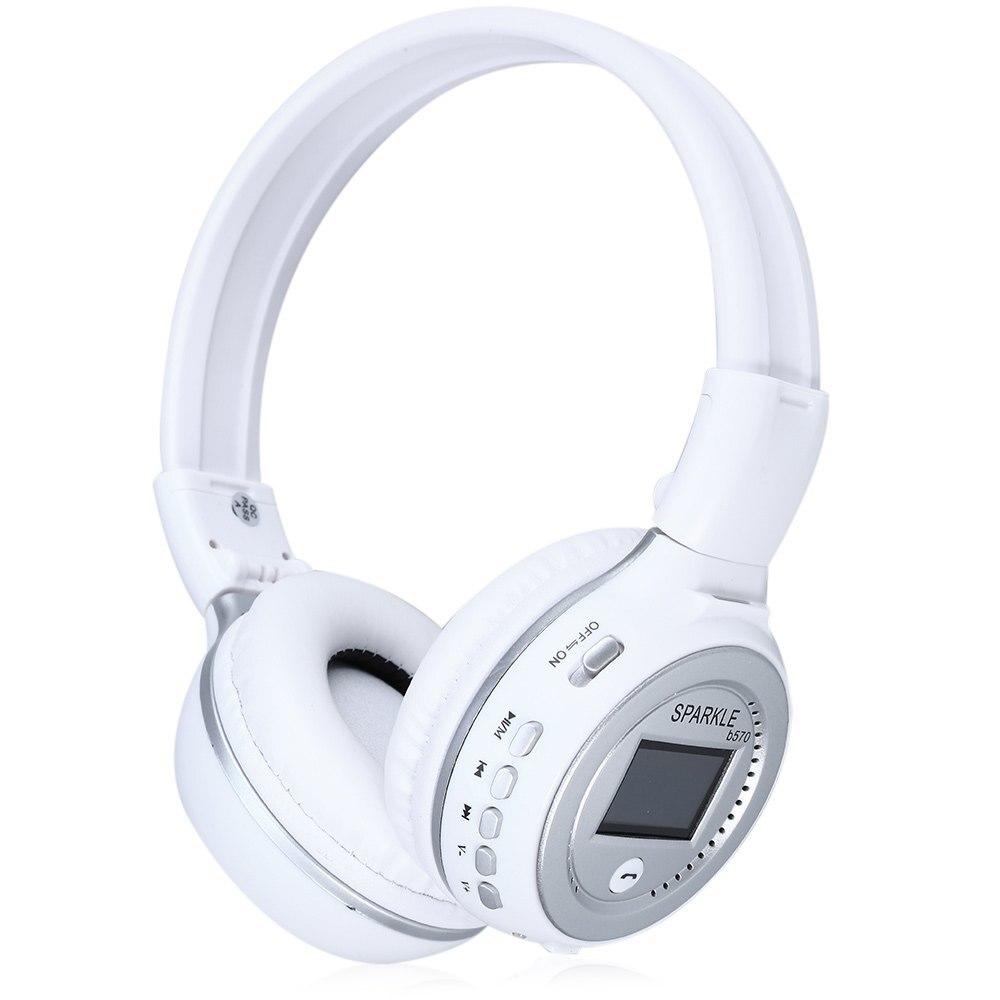 Zealot B570 LED Display Screen Wireless Stereo Bluetooth V4.0 Earphone Headphones with FM Radio TF Card Slot fone de ouvido<br><br>Aliexpress