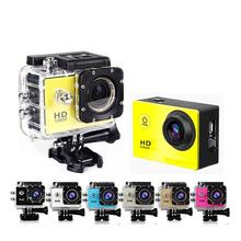 Coromose Mini Action Camera, Full HD 720P 30m Waterproof Sports DV Camcorder with 2 Inch LCD Screen for Extreme Outdoor Sports