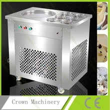 Commercial Fried ice machine;one pan fried ice cream roll machine