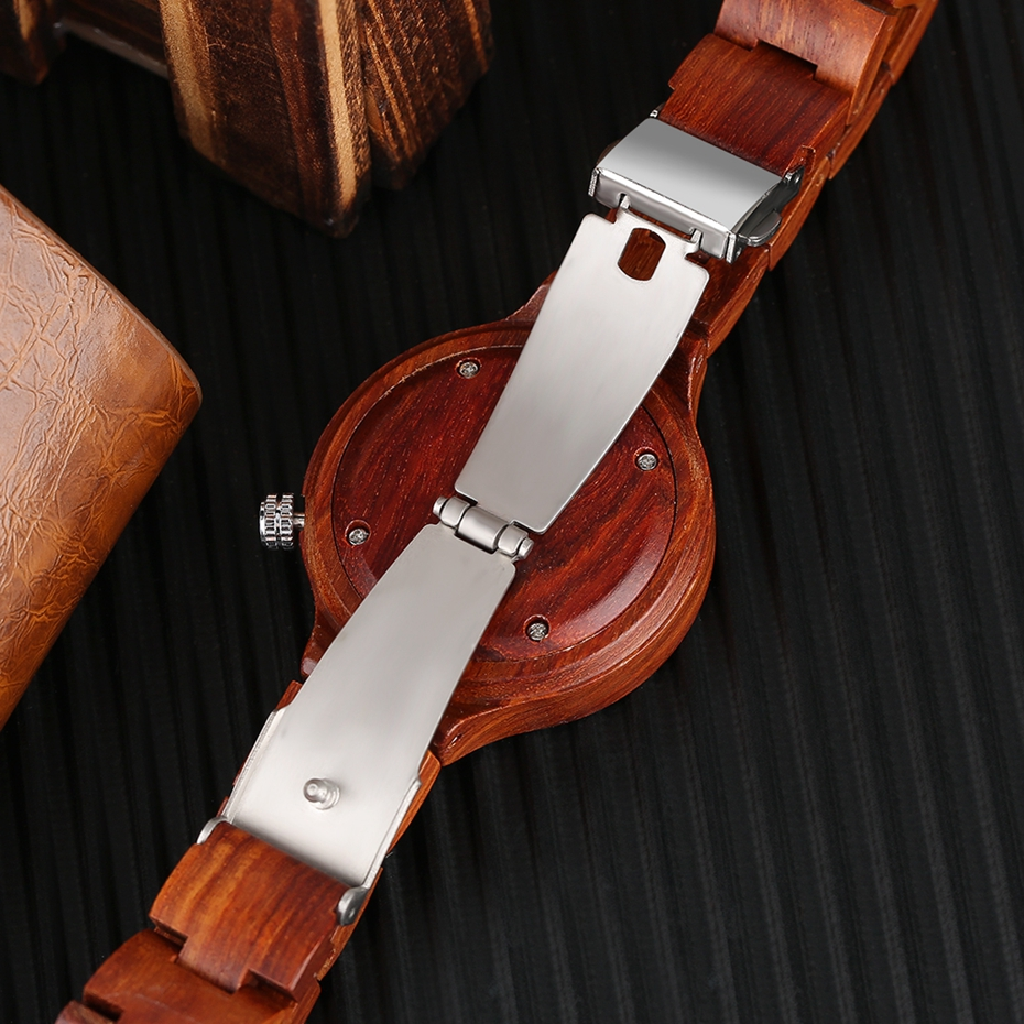Creative Women's Fashion Wood Watches Women Handmade Bamboo Wristwatch Full Wooden Strap Novel Quartz Watch Relogio Feminino HOT 2017 Rich Women (12)