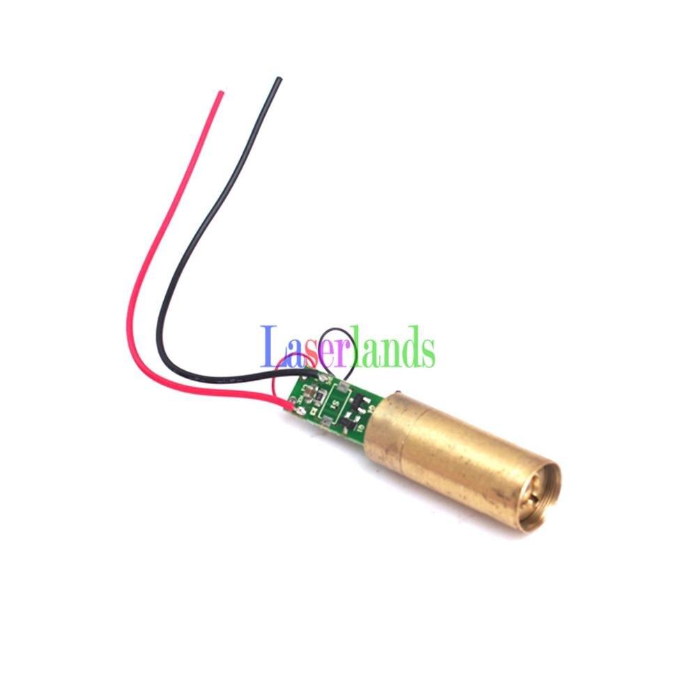 5mw Green 532nm Laser DOT Module APC FDA License Safe 3V DC<br><br>Aliexpress