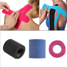 3 Type Sports Muscle Stickers Tape Roll Cotton Elastic Adhesive Therapy Muscle Muscle Bandage Strain Injury Support