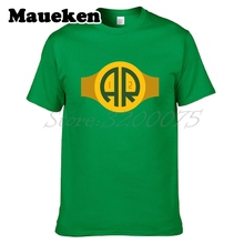 Men QB Aaron Rodgers 12 T-shirt Green Bay Clothes Short Sleeve Packers T SHIRT Men's Fashion The quarterback W0120009(China)