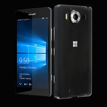 Sanheshun Mobile Phone Shell Case for Nokia Lumia 950 N950 Soft TPU Gel Rubber Transparent Back Housing Cover Bag Coque Fundas
