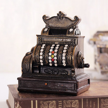 Europe Antique Imitation One-Arm Bandit Model Money Boxes home decor coin bank box moneybox resin shop cafe bar decoration craft