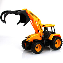 kids toys children Car toys Pull Back Engineering car forklift Vehicles Building car shovelcar Logging trucks bulldozer toys(China)