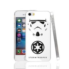23443 Stormtrooper Minimal Created of star war Cover cell phone Case for iPhone 4 4S 5 5S SE 5C 6 6S 7 Plus