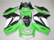 Fairing kit for Kawasaki Ninja fairings 250r 2008 2009- 2014 injection molding EX250 08-14 ZX250 green white black bodywork NZ32