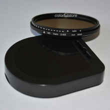 Pro 49mm 52mm 55mm 58mm 62mm 67mm 72mm 77mm 82mm ND Filter Neutral Density Adjust ND2 to ND400 ND 2 - 400 For Canon Nikon Lenses