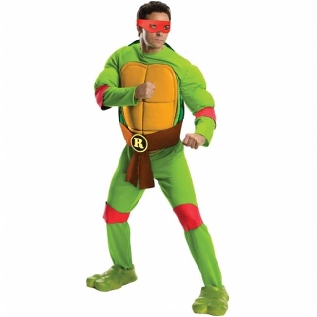 Rubies 217529 Teenage Mutant Ninja Turtles Deluxe Raphael Adult Costume - Standard - One Size