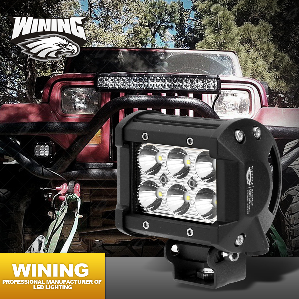 Wholesale! 40W 6.3 Inch Led Light Bar Offroad Led Driving Light DRL Daytime Running Light 12V Led Tractor Truck Work Light Combo