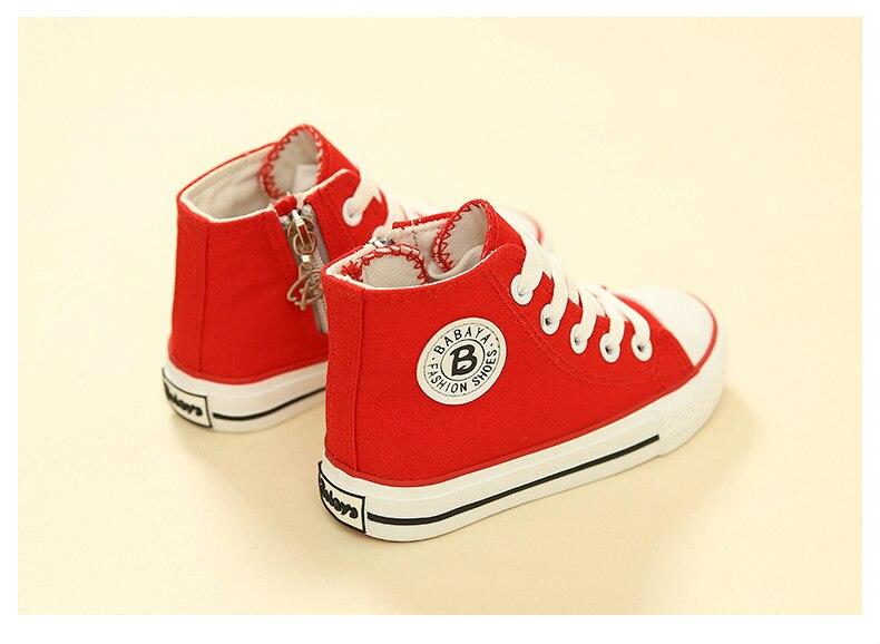Enfants chaussures pour fille enfants toile chaussures garçons 25