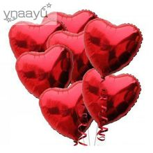 Yannyu 2pcs/lot Aluminum Foil Balloon 36 Inch Love Heart Balloons For Birthday Wedding Party Supplies Decoration