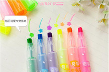 Creative Star Marker Multi Drawing Patterning Highlighters Korean Stationery Office School Supplies Papelaria