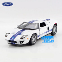 Free Shipping/1:36 Scale/2006 Ford GT Sport car/Classical Educational Model/Pull back Diecast Metal toy car/Collection