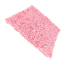 SZS Hot Newborn Baby Fur Backdrop Flannel Receiving Blanket pink(China)