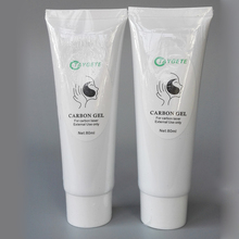 10pcs carbon laser cream black doll skin whitening nd yag laser carbon gel cream for sale(China)