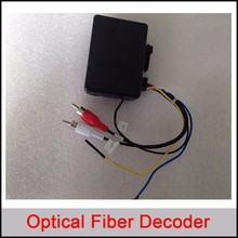 Optical fiber decoder/canbus for Mercedes Benz ML/R Series; For Porsche Cayenne Series(China)