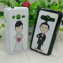 Cell Accessories Shenzhen Manufacturer Wholesale Cheap 2D plastic PC Hard Mobile Phone for samsung ACE4
