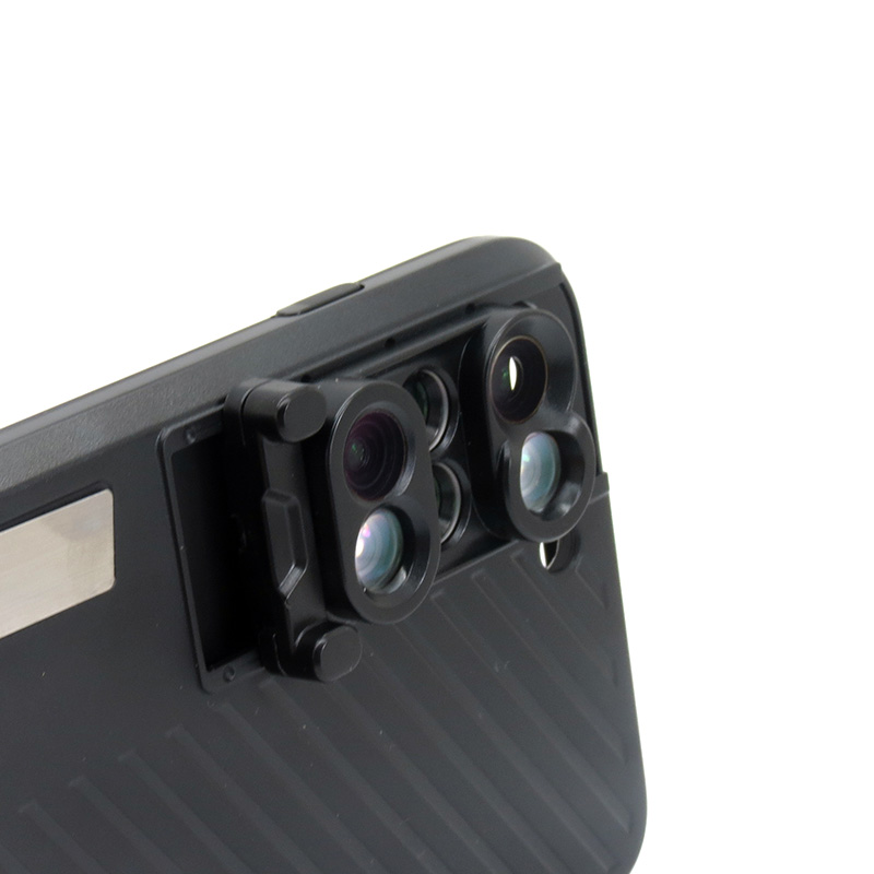 18 New Arrival Dual Camera Lens For iPhone X 8 Plus Fisheye Wide Angle Macro Lens For iPhone 7 Plus Phone Case Telescope Lens 15