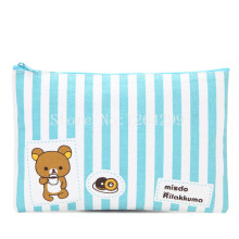 New Fashion Rilakkuma Girls Woman Big Cosmetic Bags Cases For Children G