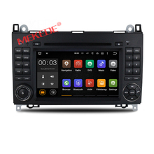 Pure Android 6.0 Quad Core 1024*600 Car DVD Player for benz B200 W169 W245 A160 Viano Vito v-class BT GPS stearing wheel ODB dvr