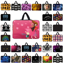 "Stylish Slim Neoprene Laptop Bag 10"" 12"" Tablets Netbook Pouch Cover Bags 13.3 14.1 15.4 15.6 17"" Notebook Carrying Cases Bag"