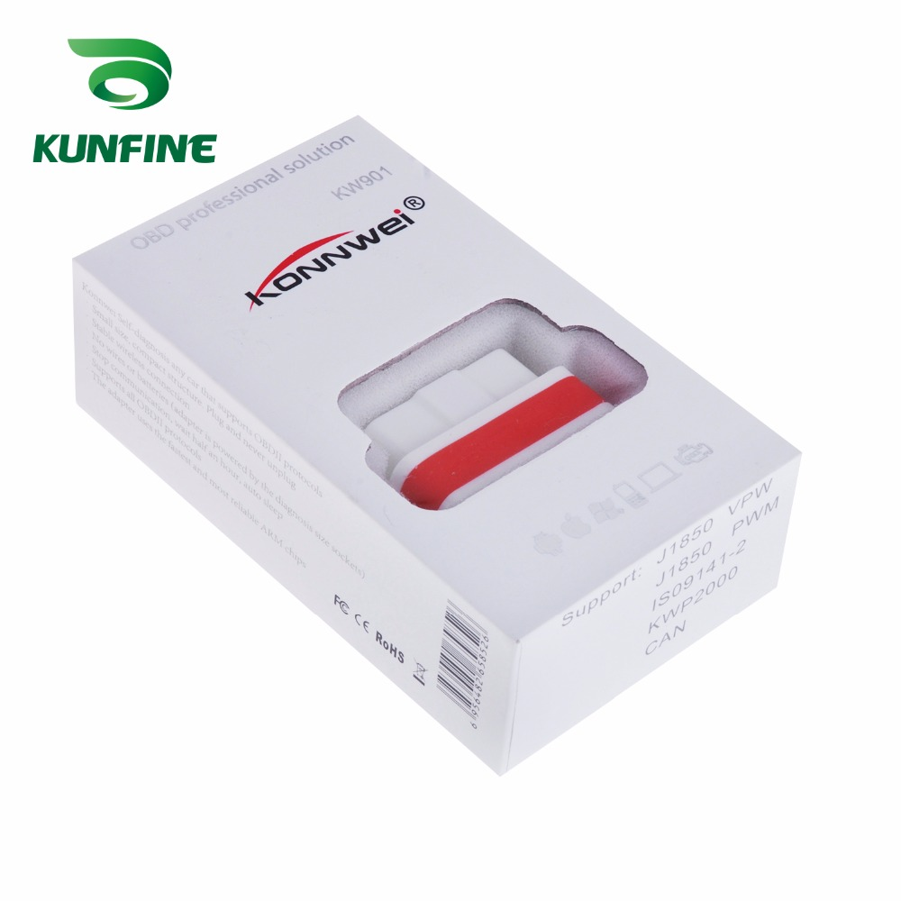 Auto Diagnostic Tool Car engine code Scanner Vehicle fault reader KF-A1184_8210