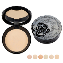 Face Pressed Powder Concealer Contour Palette Makeup Loose Powder Bare Skin Finish Natural Mineral Powder Compact MakeUp Face Z3
