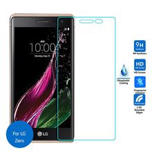 2pcs/lot Real 9H 2.5D 0.26mm New Luxury Tempered Glass Screen Protector Film for LG Zero H650 H650AR H650E H650K