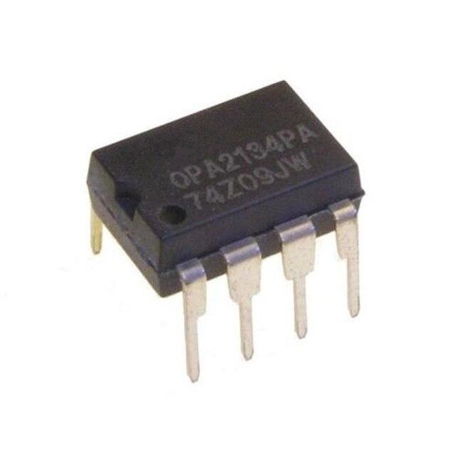 10PCS OPA2134PA BB DIP-8 OPA2134 2134PA OPERATIONAL AMPLIFIERS new
