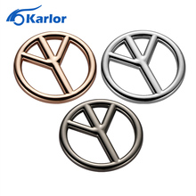 3D 3M Metal Anti-war New Peace Sign Logo Symbol No War Motorcycle Car Auto Badge Emblem Stickers Decal Car Styling Accessories