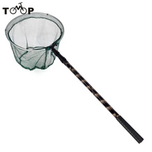 Aluminum Alloy 180cm Telescope Extending Pole Handle Fishing Brail Landing Net Tackle Folding Carp Fishing Net