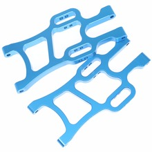 108819 Aluminum Front Lower Arms (L/R) For RC 1:10 Redcat Volcano Epx (PRO) Exceed Infinity EP Monster Truck Blue / Purple